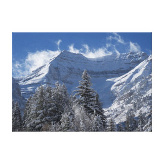 Photo taken at Sundance Resort Canvas Print