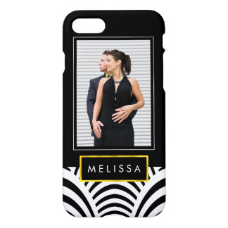 Photo Template Modern Jazz Age Deco iPhone 7 Case
