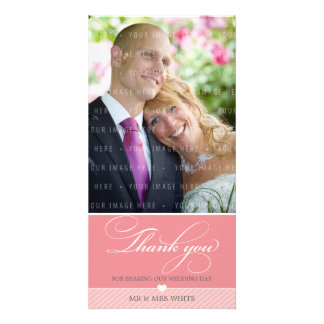 PHOTO THANK YOU :: lovely type 1 Photo Card Template