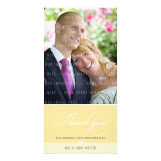 PHOTO THANK YOU :: lovely type 2 Photo Greeting Card