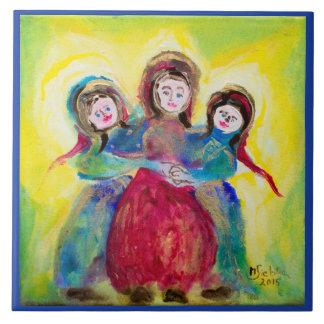 "Photo tile ""three women """