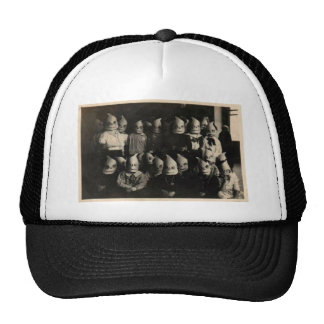 Photo vintage des costumes de Halloween en Irlande Casquette Trucker