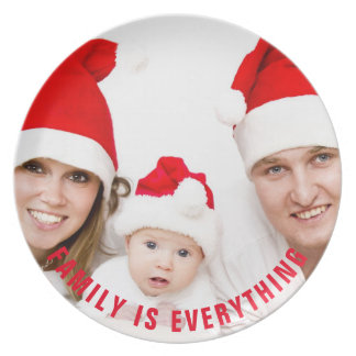 Photo with Custom Curved Text Plate
