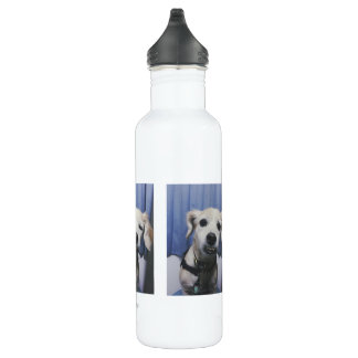 Photobooth Water Bottle (24 oz), White
