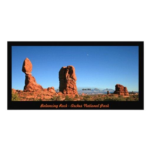 Photocard - Balancing Rock Customized Photo Card