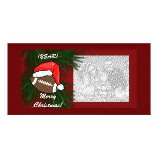 Photocard - Christmas Football Customized Photo Card