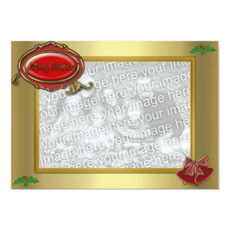 "Photocard Christmas Invitation 5"" X 7"" Invitation Card"