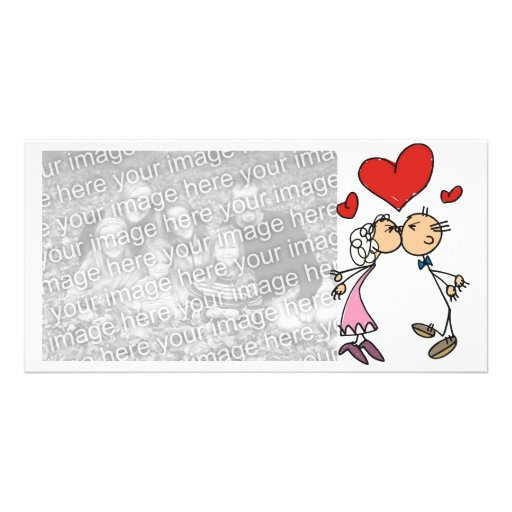 Photocard Valentine's Day Couple Picture Card