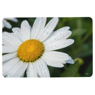 photograph, a margueritte, make green floor mat