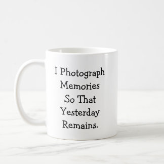 Photograph Memories Mug