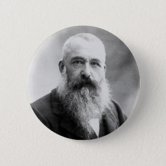 Photograph of Claude Monet by Nadar (1899) 2 Inch Round Button