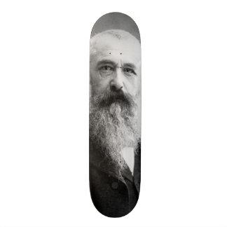 Photograph of Claude Monet by Nadar (1899) Custom Skateboard