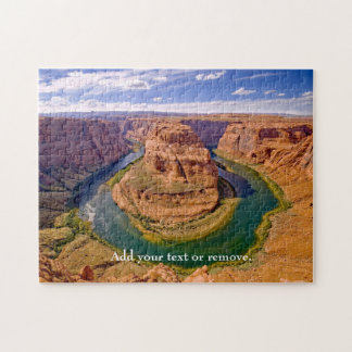 Photograph of Horseshoe Bend, Gran Canyon, Arizona Jigsaw Puzzle