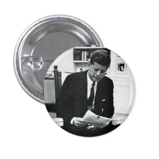 Photograph of John F. Kennedy 2 1 Inch Round Button
