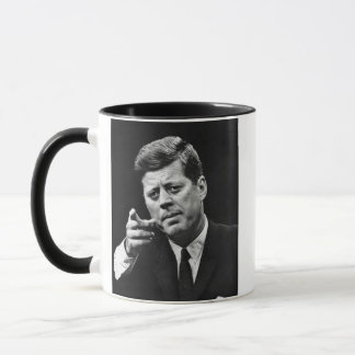 Photograph of John F. Kennedy 3 Mug