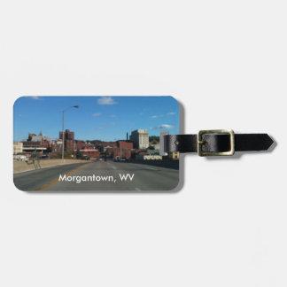Photograph of Morgantown WV Luggage Tags