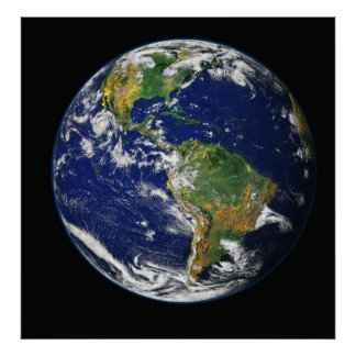 Photograph of the Earth Poster