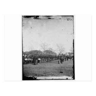 Photograph of the Federal Navy. Civil War. c. 1861 Postcard