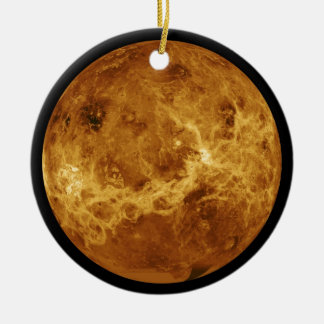 Photograph of the Venus planet Ceramic Ornament