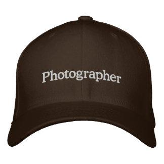 Photographe Casquettes De Baseball Brodées