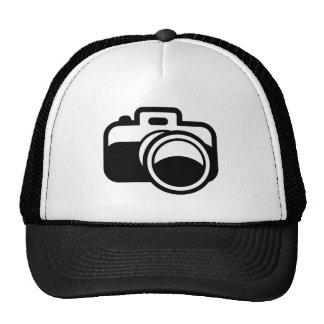 Photographe noir moderne d'icône d'appareil-photo casquettes