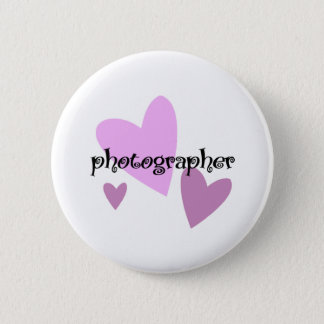 Photographer 2 Inch Round Button