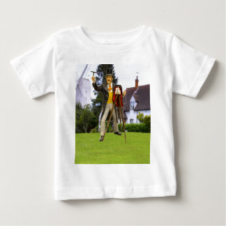 Photographer at work baby T-Shirt