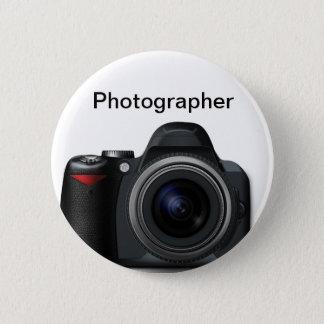 Photographer Badge 2 Inch Round Button