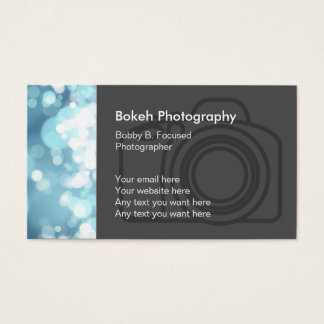 Photographer Business Card Style