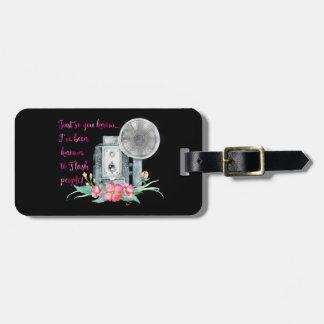 Photographer Camera Flash Luggage Tag