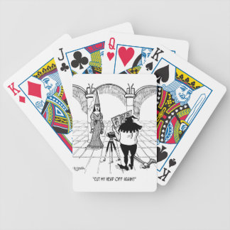Photographer Cartoon 2155 Bicycle Playing Cards
