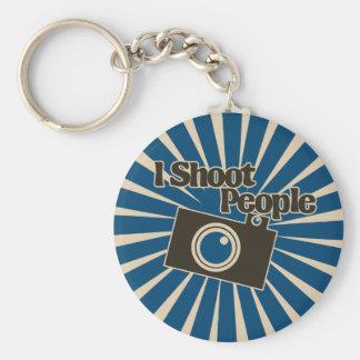 Photographer Design Basic Round Button Keychain