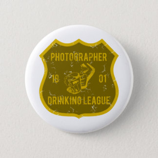 Photographer Drinking League 2 Inch Round Button