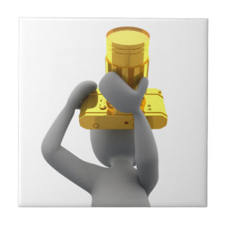 photographer golden camera tiles