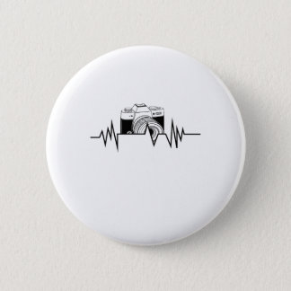 Photographer  HeartBeat Photography Cool Gift 2 Inch Round Button
