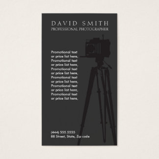 Photographer ı business card