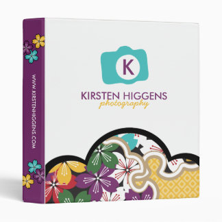 Photographer in Bloom Studio Binder