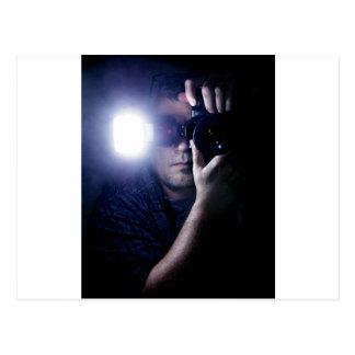 Photographer in the Dark.jpg Postcard