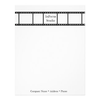 Photographer Letterhead