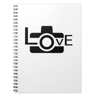 Photographer  Love Photography Gift Notebook