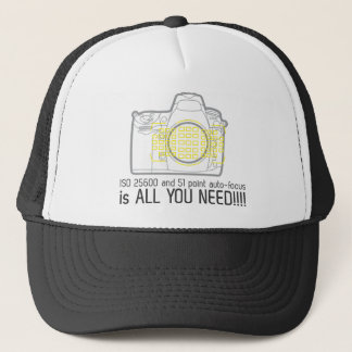 Photographer Nikon D700 is all you need Trucker Hat