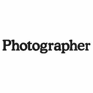 Photographer poloshirt embroidered shirt