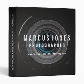 Photographer Portfolio Binder