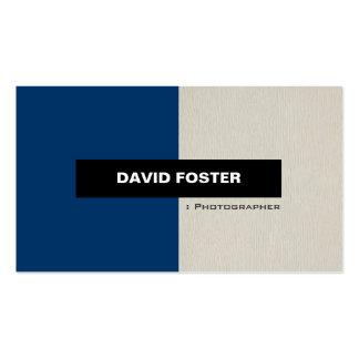 Photographer - Simple Elegant Stylish Business Card