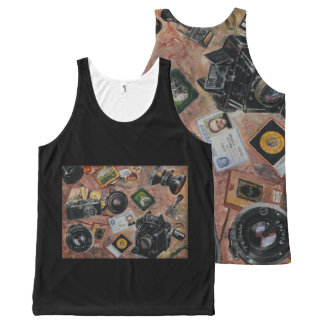 photographer table All-Over-Print tank top
