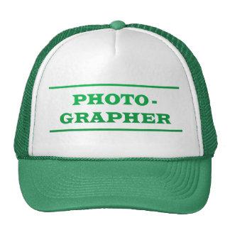 PHOTOGRAPHER : Text Trucker Hat