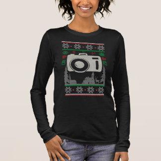Photographer Ugly Christmas Long Sleeve T-Shirt