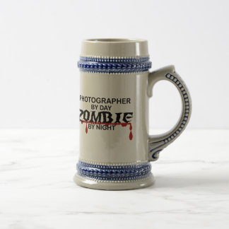 Photographer  Zombie Beer Stein