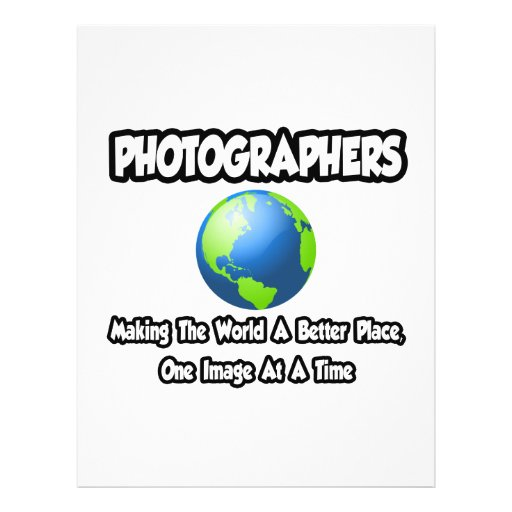 Photographers...Making the World a Better Place Flyer