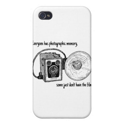 Photographic Memory Cases For iPhone 4